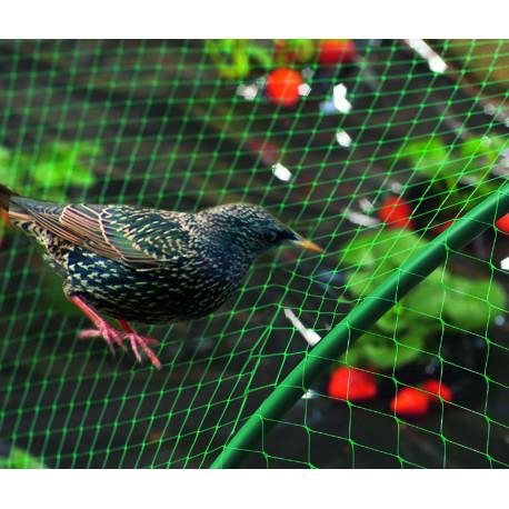 Malla anti pájaros 2x5m verde BIRDNET Nortene
