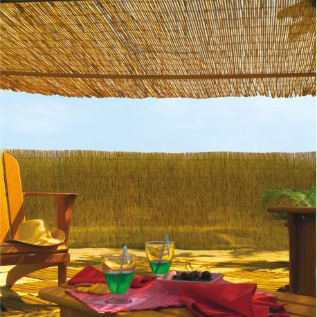 Cañizo bambú natural 2x5m Nortene REEDCANE