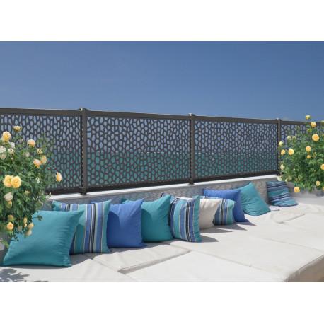 Panel decorativo Mosaïc 1x2m Antracita Nortene
