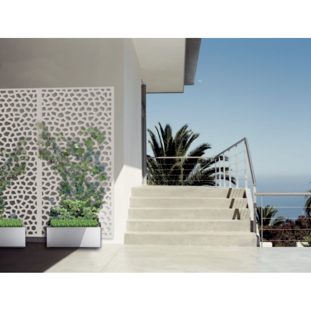 Panel decorativo Mosaïc 1x2m Blanco Nortene
