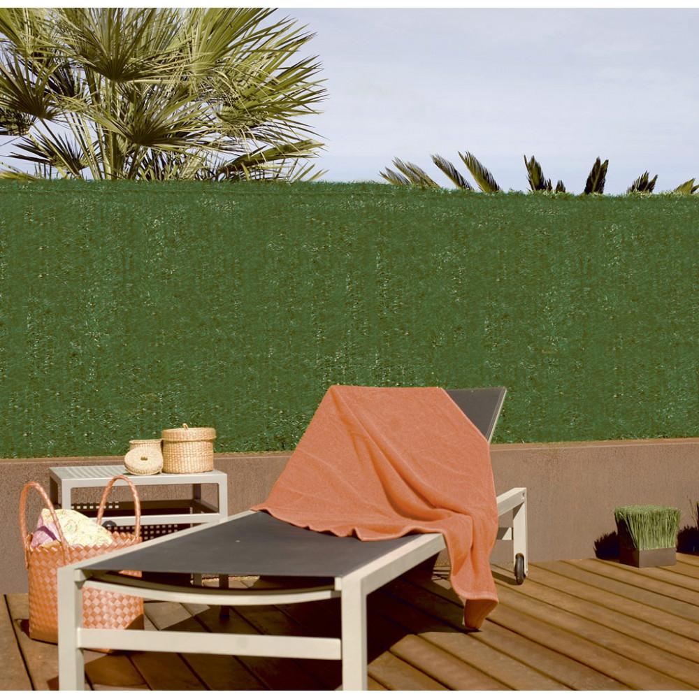 Seto artificial imitación natural ocultación media 2x3m anti-UV Nortene GREENSET