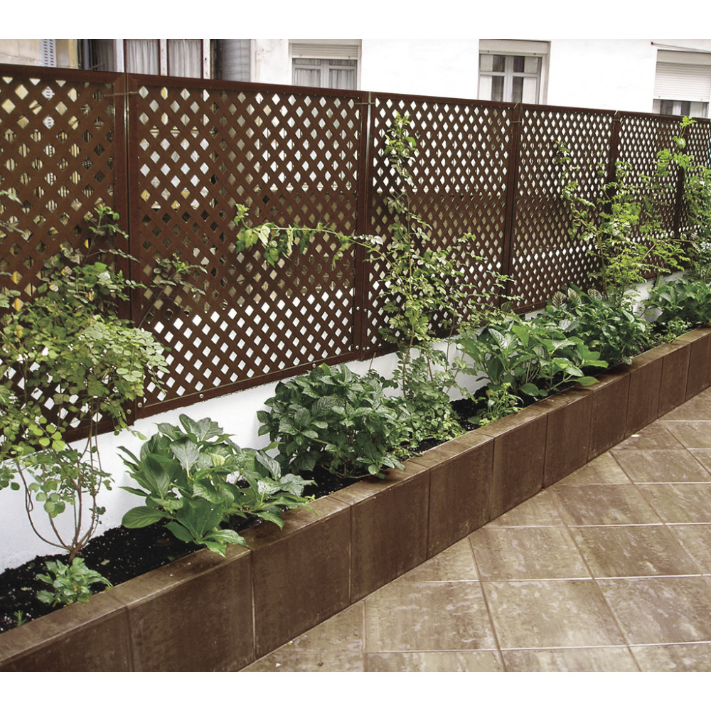 Panel decorativo Privat 1x2m Oxido Nortene
