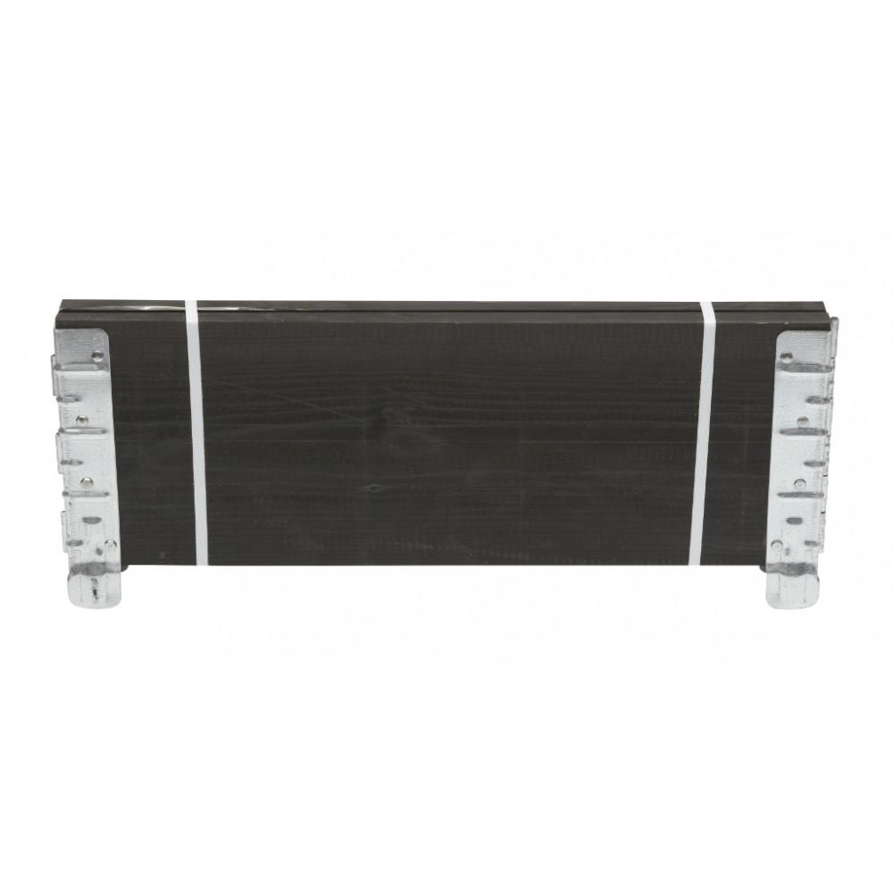 Huerto urbano modular madera FSC 0,6 x0,19 m negro Nortene MODULO GARDEN