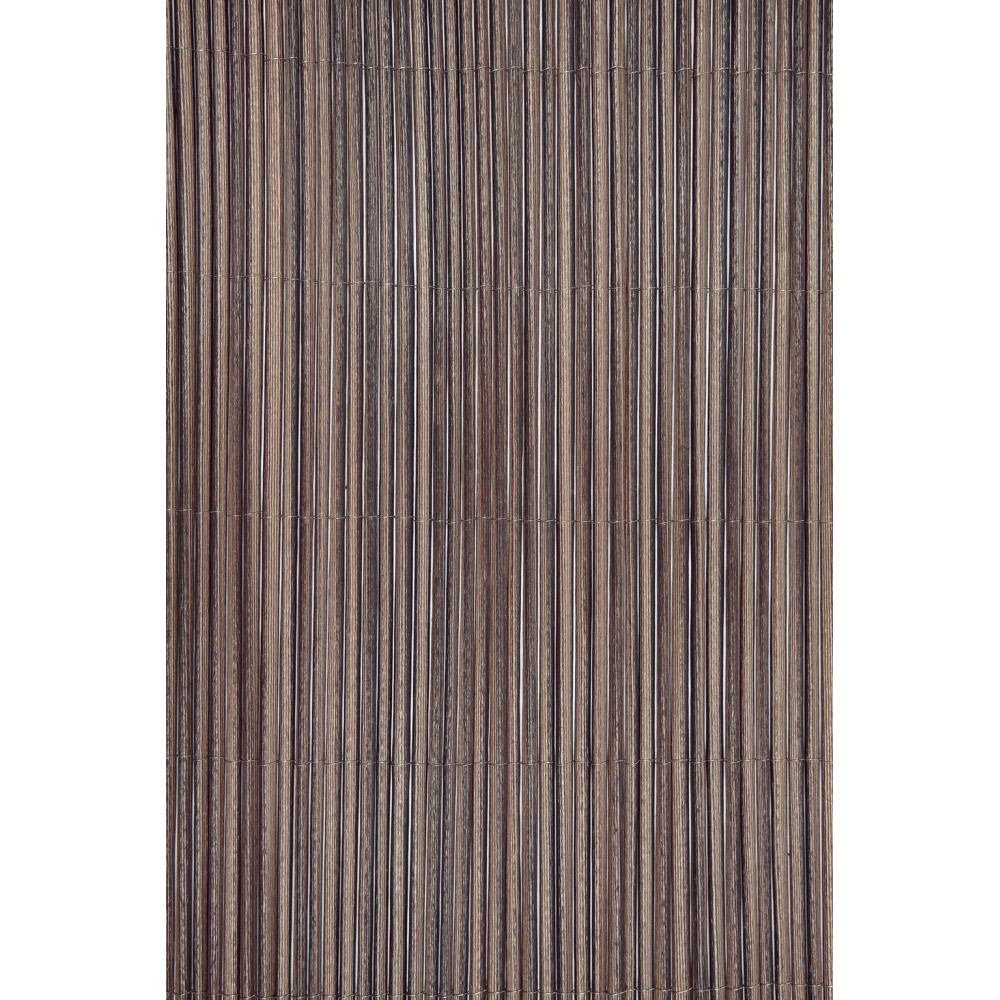 Cañizo sintético imitación natural marrón 1x3m Nortene FENCY WICK