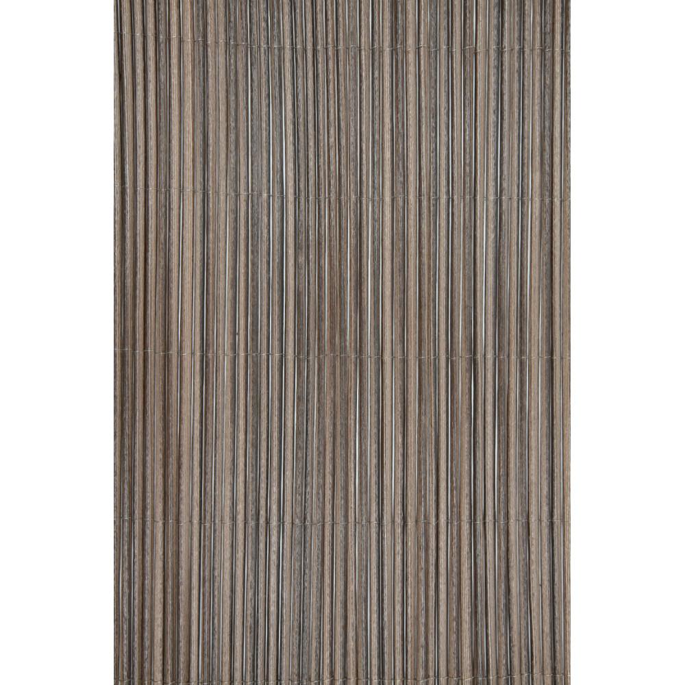Cañizo sintético imitación natural marrón 1,5x3m Nortene FENCY WICK