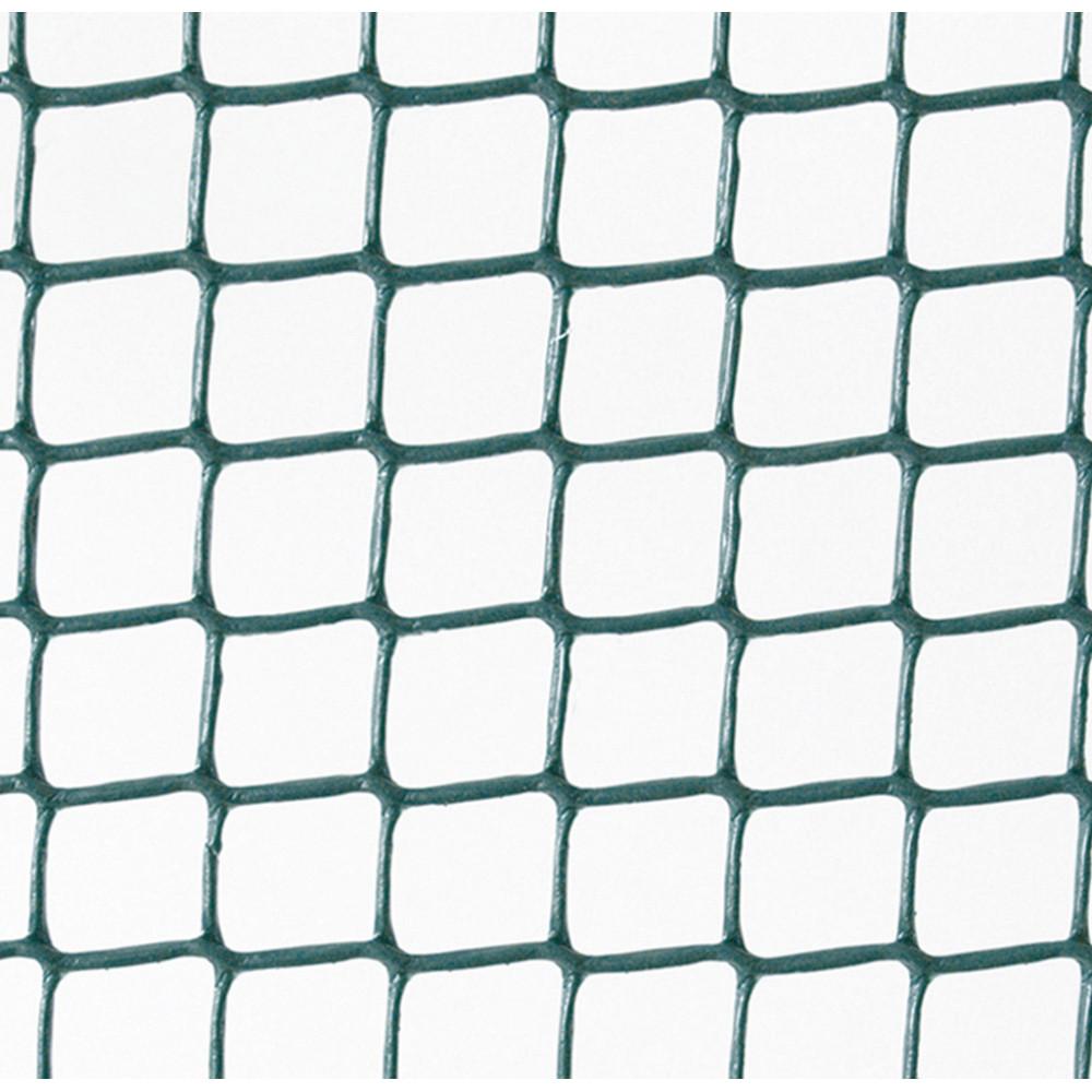 Malla cuadrada plástica rollo 5m Verde Cuadranet Nortene