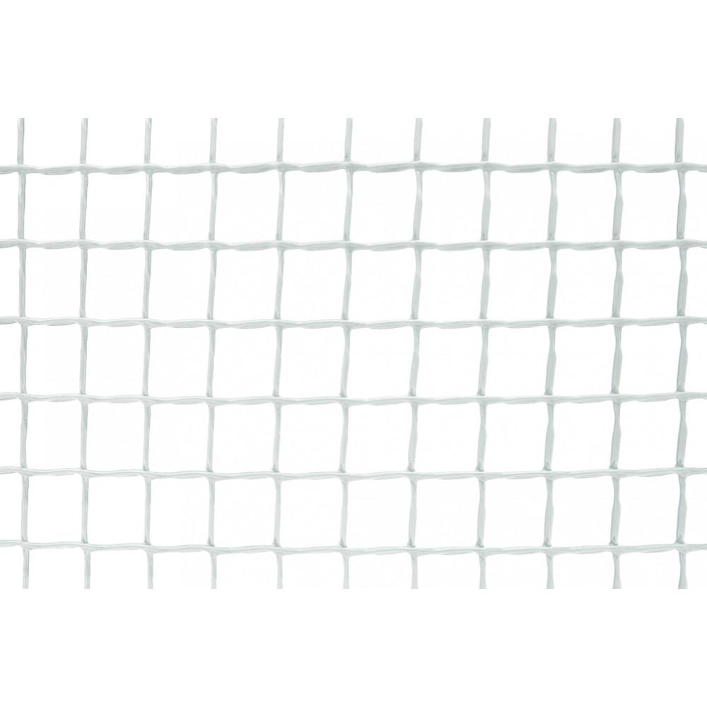 Malla cuadrada CUADRANET 20 x 20, 1 x 5 m blanco Nortene