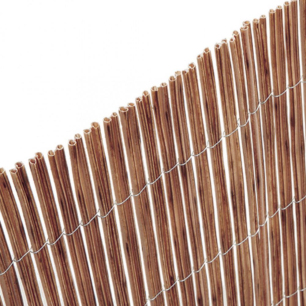 Cañizo sintético imitación y color natural 1x3m ocultación alta Nortene FENCY TWIN
