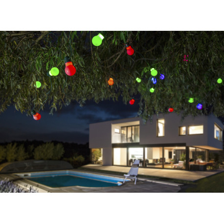 Guirnalda de luces solares led Rumba Nortene