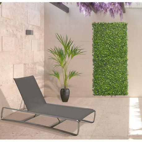 Jardín Vertical sintético Jasmin imitación flores de jazmín Nortene