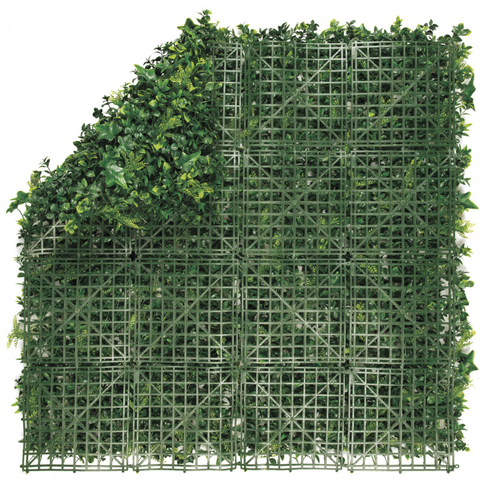 Jardín vertical sintético VERTICAL FOREST imitación plantas autóctonas europeas Nortene