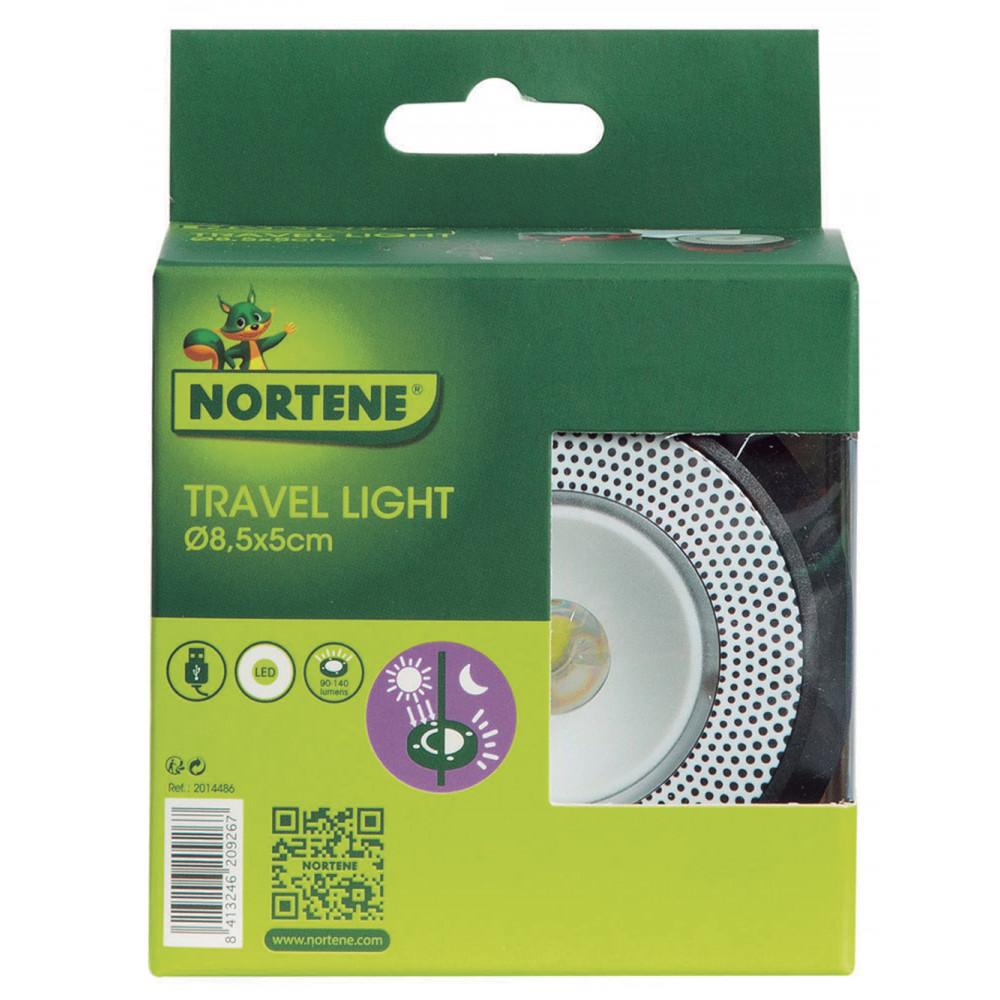 Linterna solar retráctil, agradable y eficaz TRAVEL LIGHT Nortene