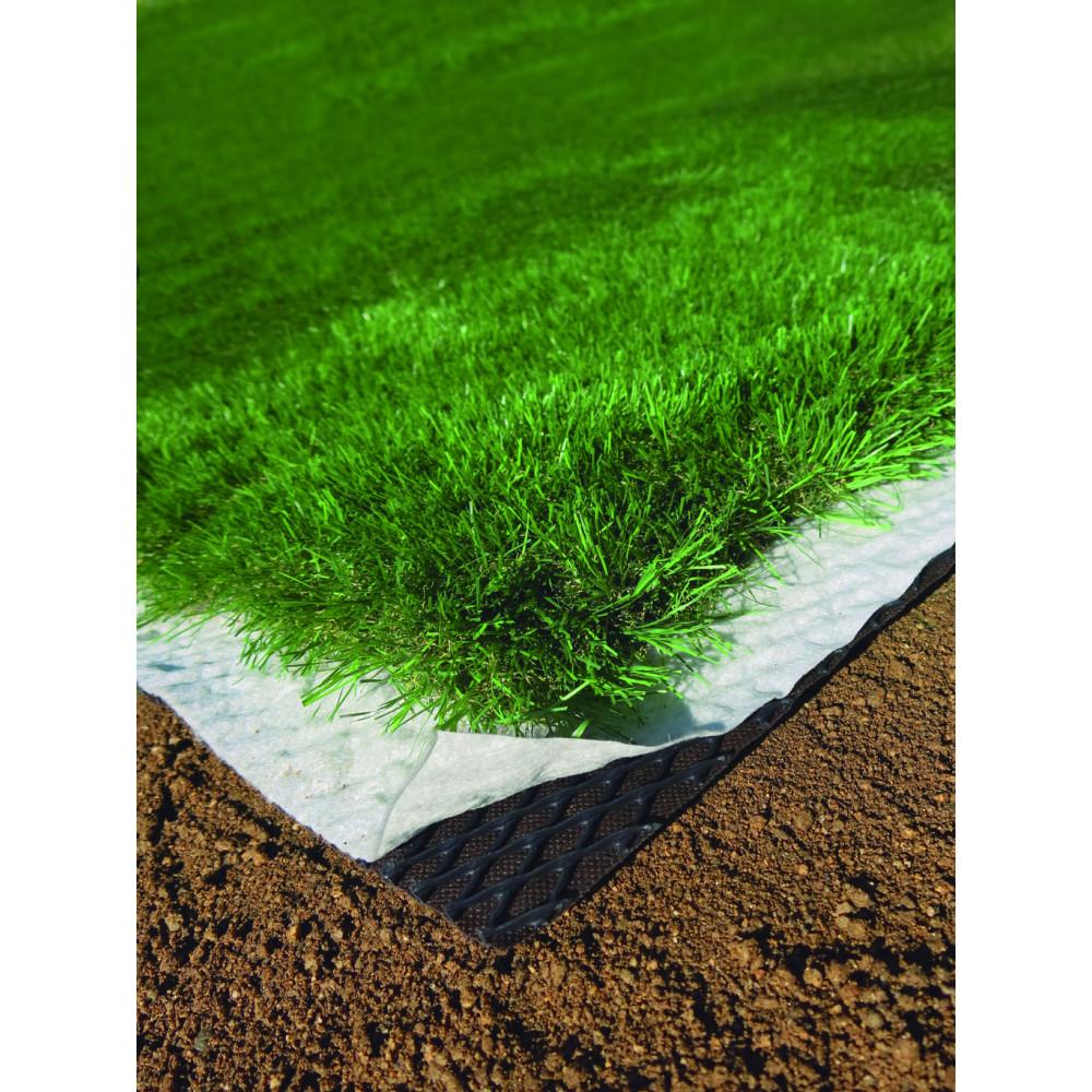 Malla anti hierbas geotextil drenante 3en1 de 1x4m Nortene SOLDRAIN