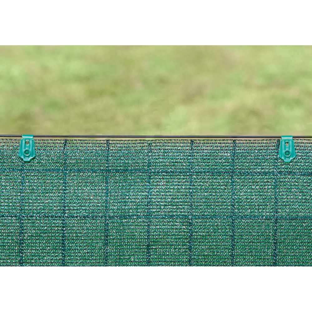 Clips de fijacción FIXATEX verde Nortene