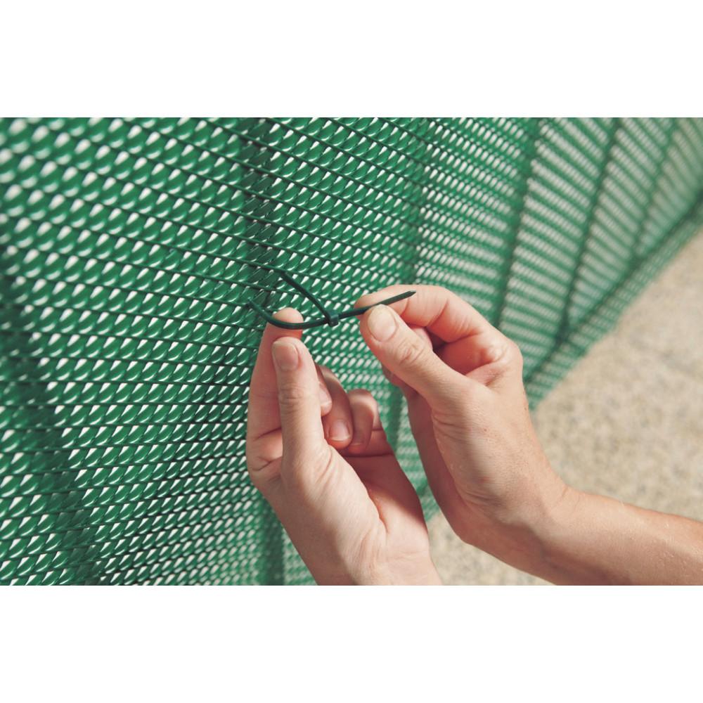 Bridas 4,8 mm x 19 cm BRIDFIX verde Nortene