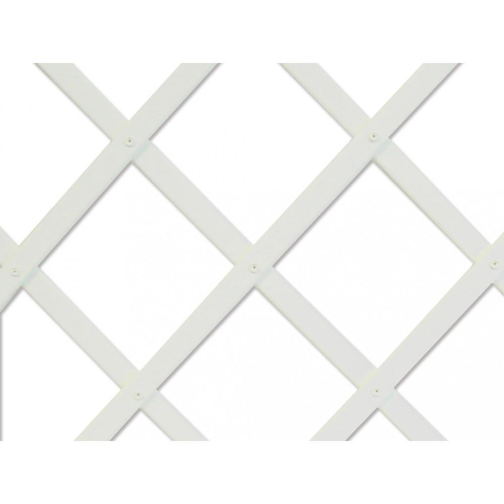 Celosía extensible 0,5 x 1,5 m TRELLIFLEX blanco Nortene