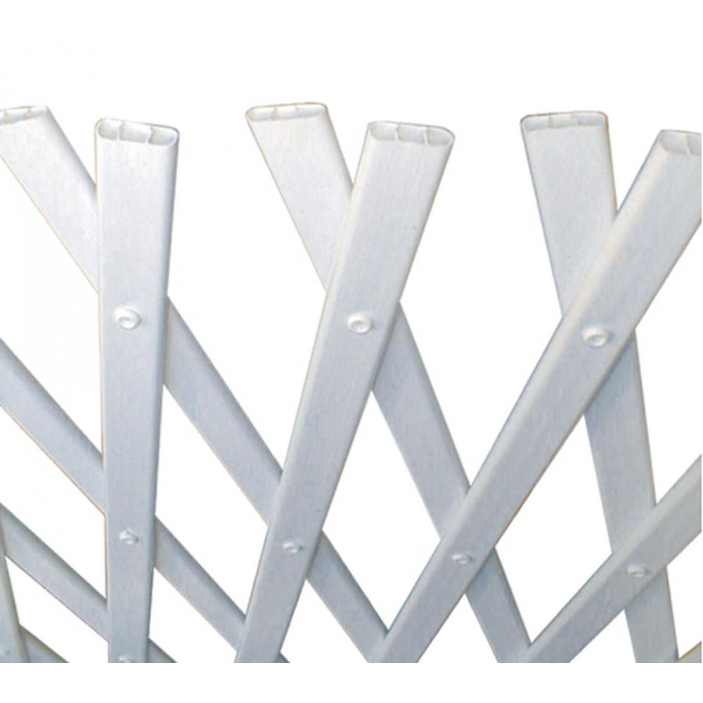 Celosía extensible 1 x 2 m TRELLIFLEX blanco Nortene