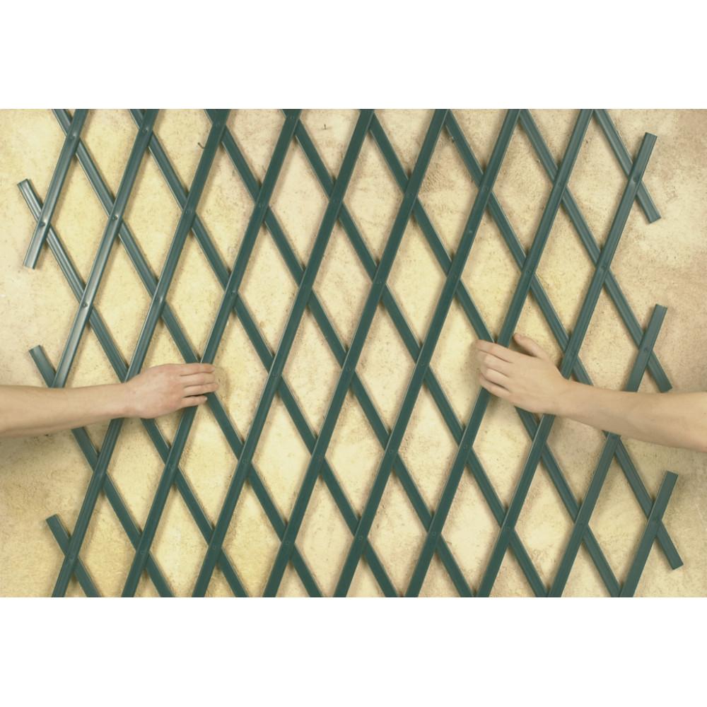 Celosía extensible 1 x 2 m TRELLIFLEX verde Nortene