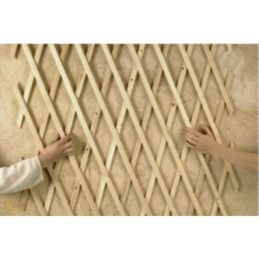 Celosia extensible de madera 1 x 2 m TRELLIWOOD Nortene