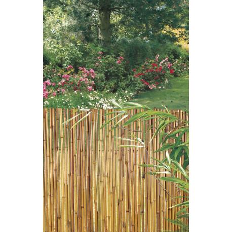 Rollo flexible en bambú barnizado BAMBOOFLEX 1 x 3 m Nortene