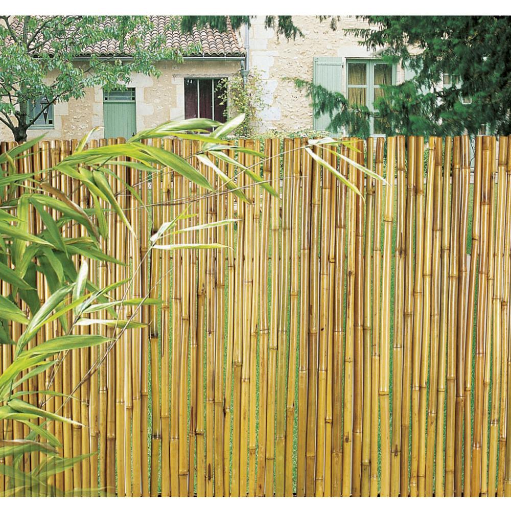 Rollo flexible en bambú barnizado BAMBOOFLEX 1,5 x 3 m Nortene