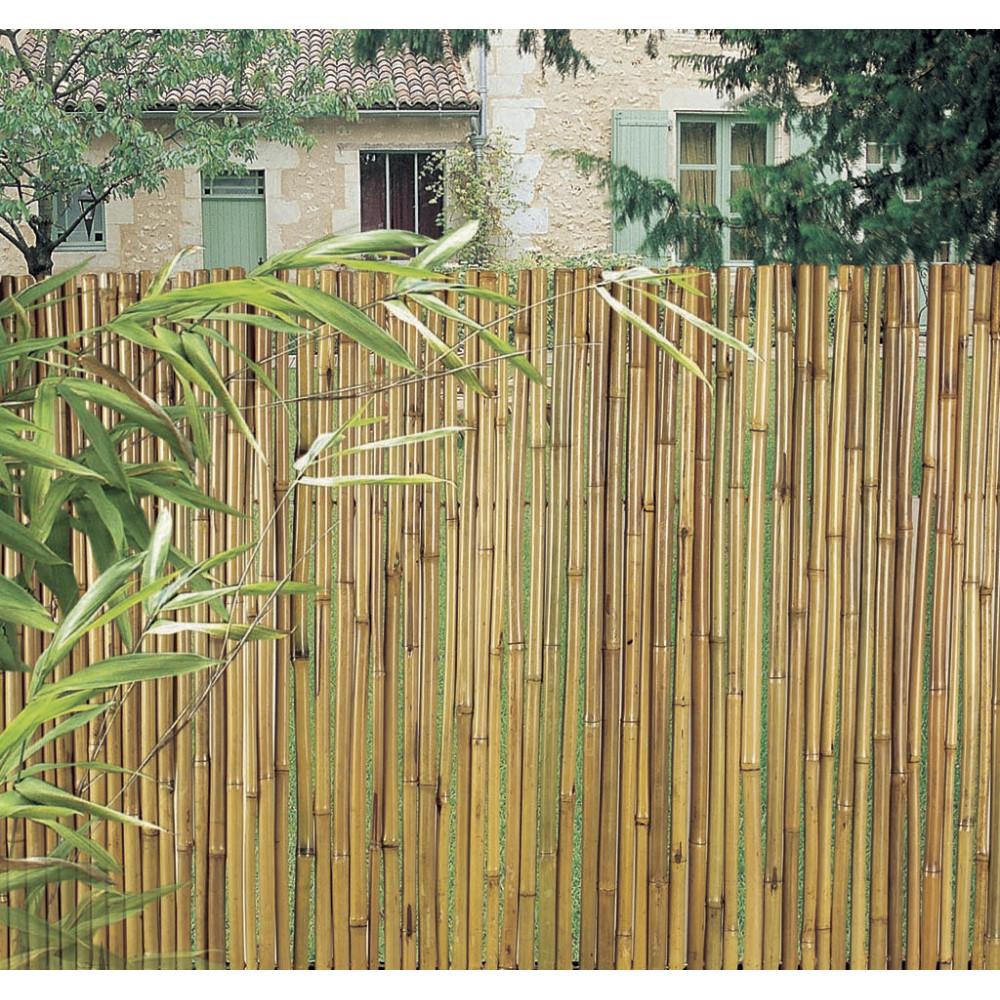 Rollo flexible en bambú barnizado BAMBOOFLEX 2 x 3 m Nortene