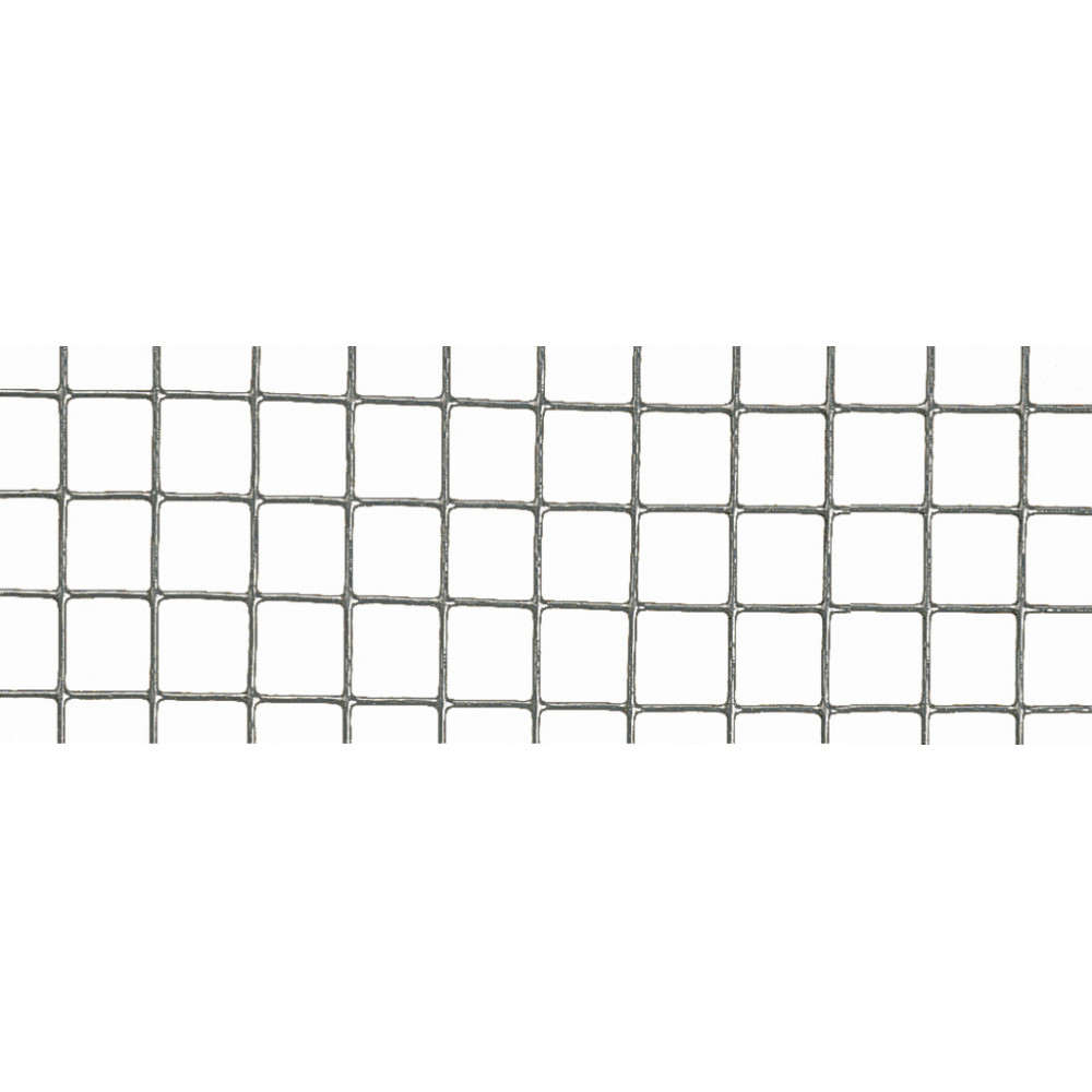 Malla metálica electrosoldada plastificada 1 m x 5 m FENSANET PLAST 6,4 Nortene