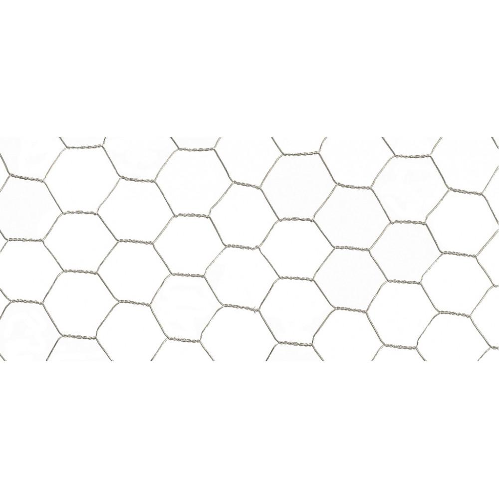 Malla metálica de triple torsión GALVANEX 41 1 x 10 m Nortene