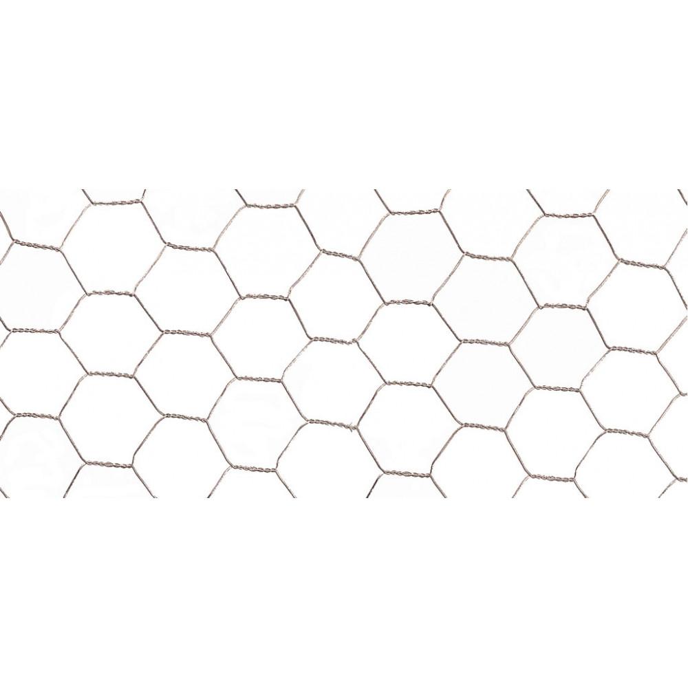 Malla de triple torsión plastificada GALVANEX PLAST 19 1 x 10 m Nortene