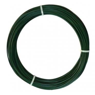 Alambre plastificado 23 mm x 100 m PLAST WIRE Nortene