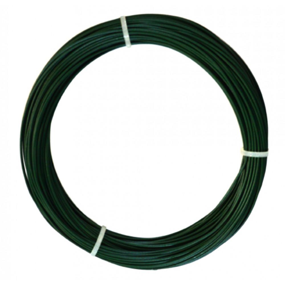 Alambre plastificado 0,60,8 mm x 100 m PLAST WIRE Nortene