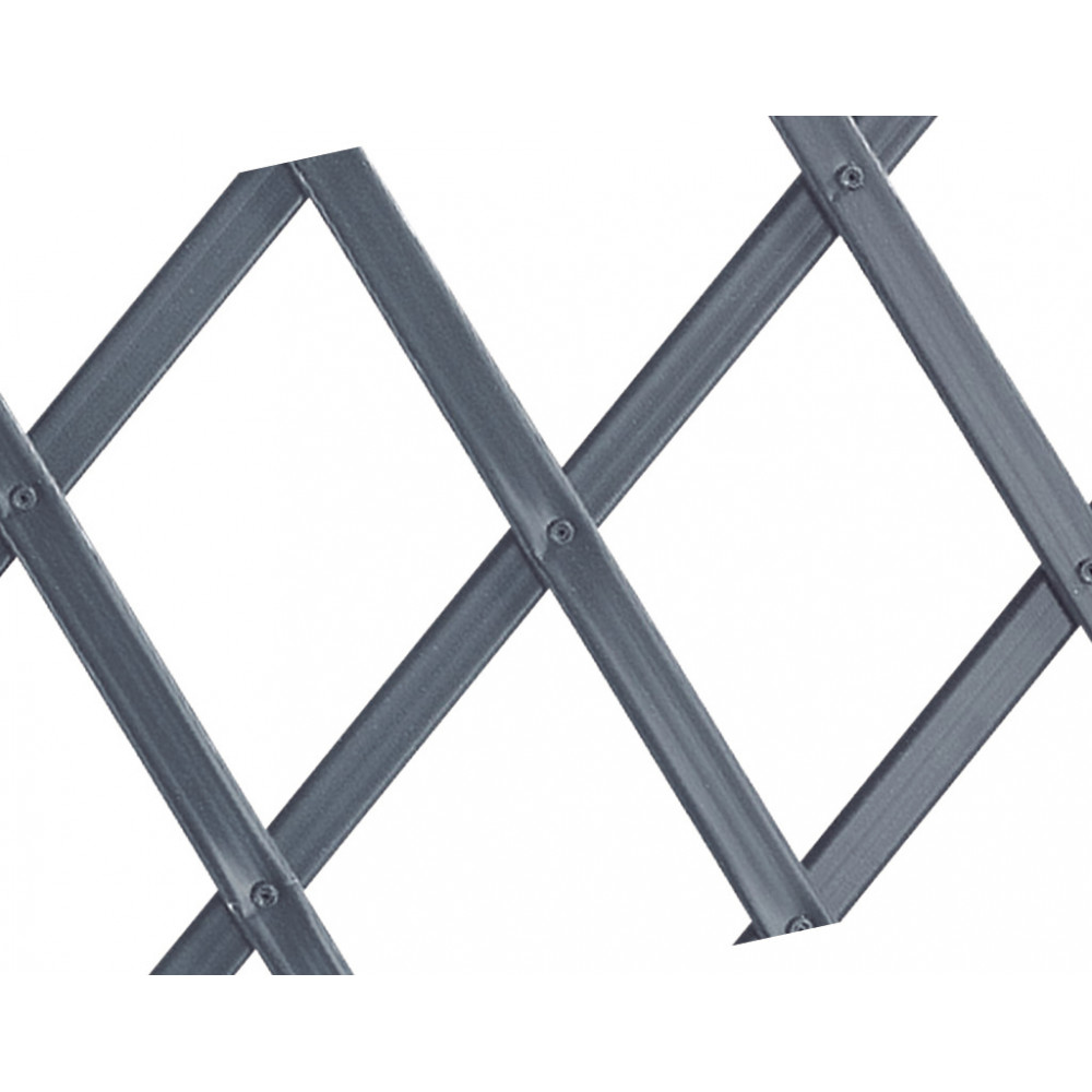 Celosía extensible 0,50 x 1,50 m TRELLIFLEX antracita Nortene