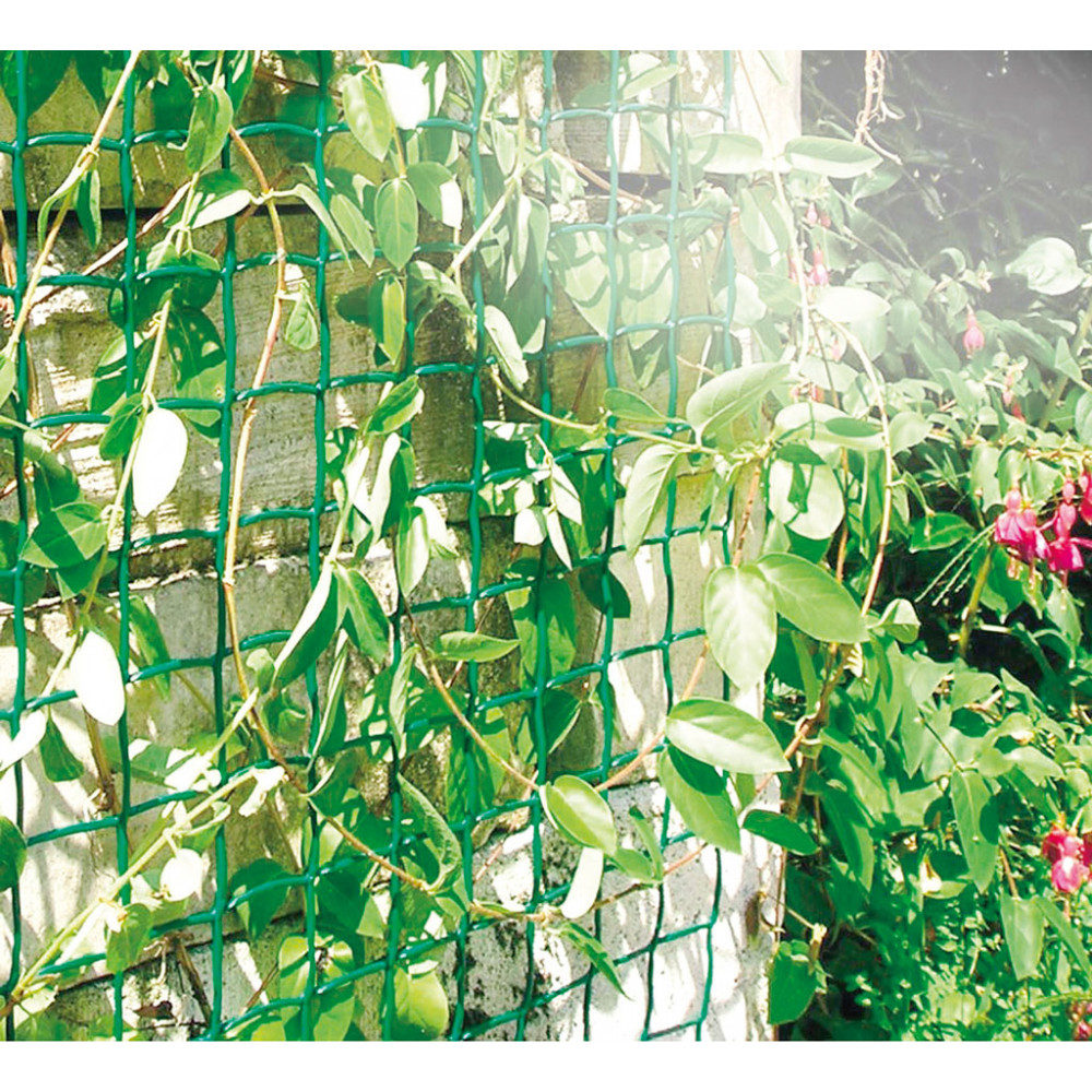 Malla cuadrada CLIMBANET verde Nortene