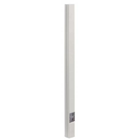 Poste de aluminio 1,15 x 0,06 m ALUPOST blanco Nortene