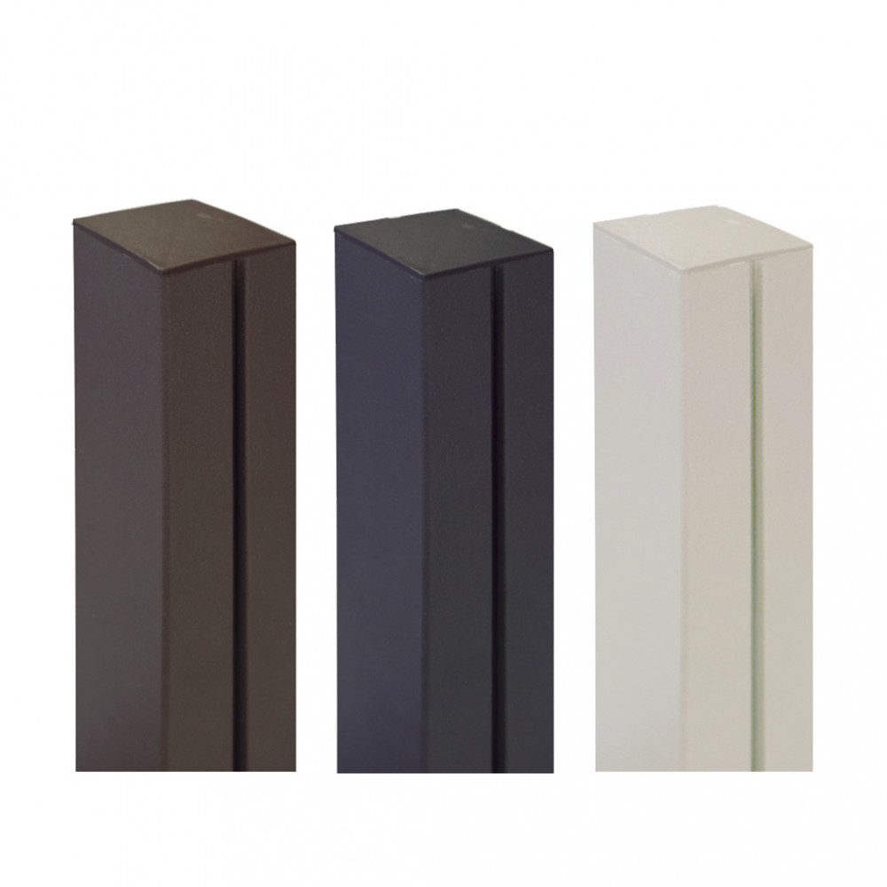 Poste de aluminio 1,15 x 0,06 m ALUPOST marrón Nortene