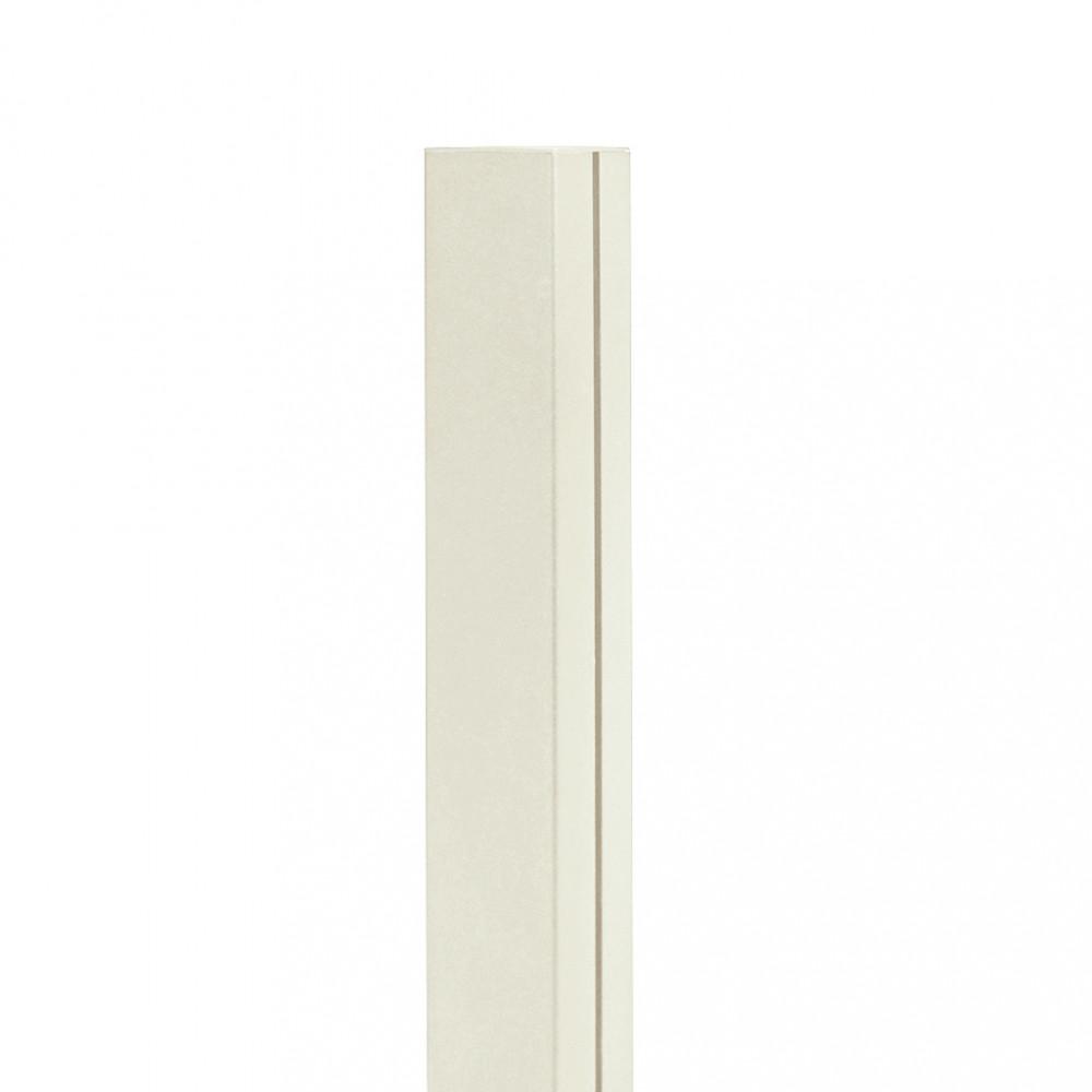 Poste de aluminio 2,15 x 0,06 m ALUPOST blanco Nortene