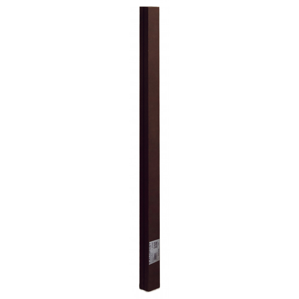 Poste de aluminio 2,15 x 0,06 m ALUPOST marrón Nortene