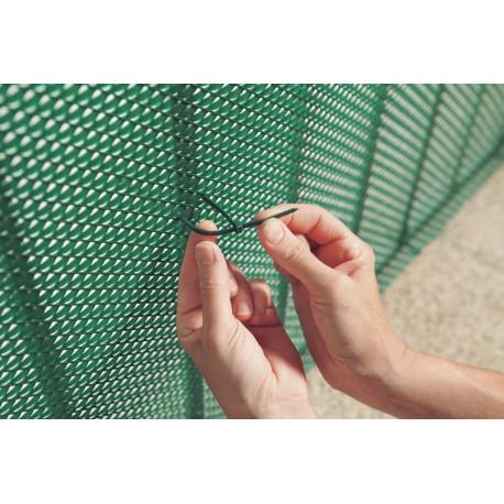 Bridas 3,2 mm x 14 cm BRIDFIX marrón Nortene