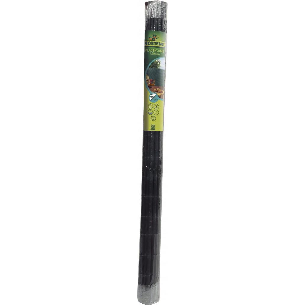 Cañizo media caña PLASTICANE 1,5 x 3 m verde Nortene
