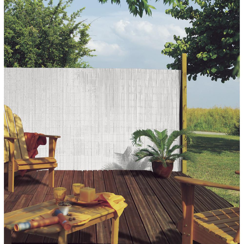 Cañizo media caña PLASTICANE 1 x 3 m blanco Nortene