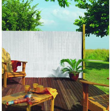 Cañizo media caña PLASTICANE 1,5 x 3 m blanco Nortene