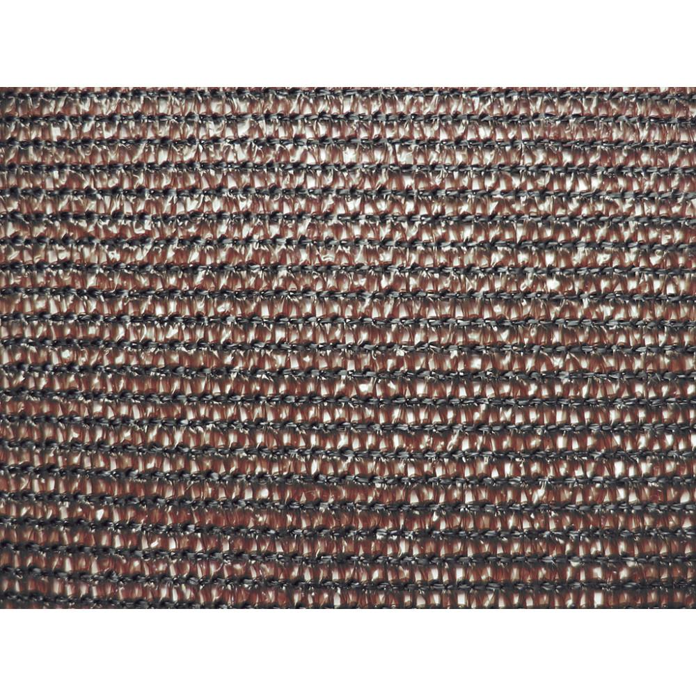 Malla ocultación tejida 1 x 10 m 80% EXTRANET marrón Nortene