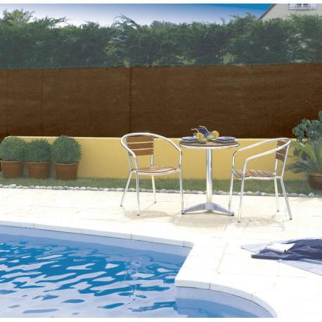 Malla de ocultación 95% 1,5 x 10 m TOTALTEX marrón Nortene