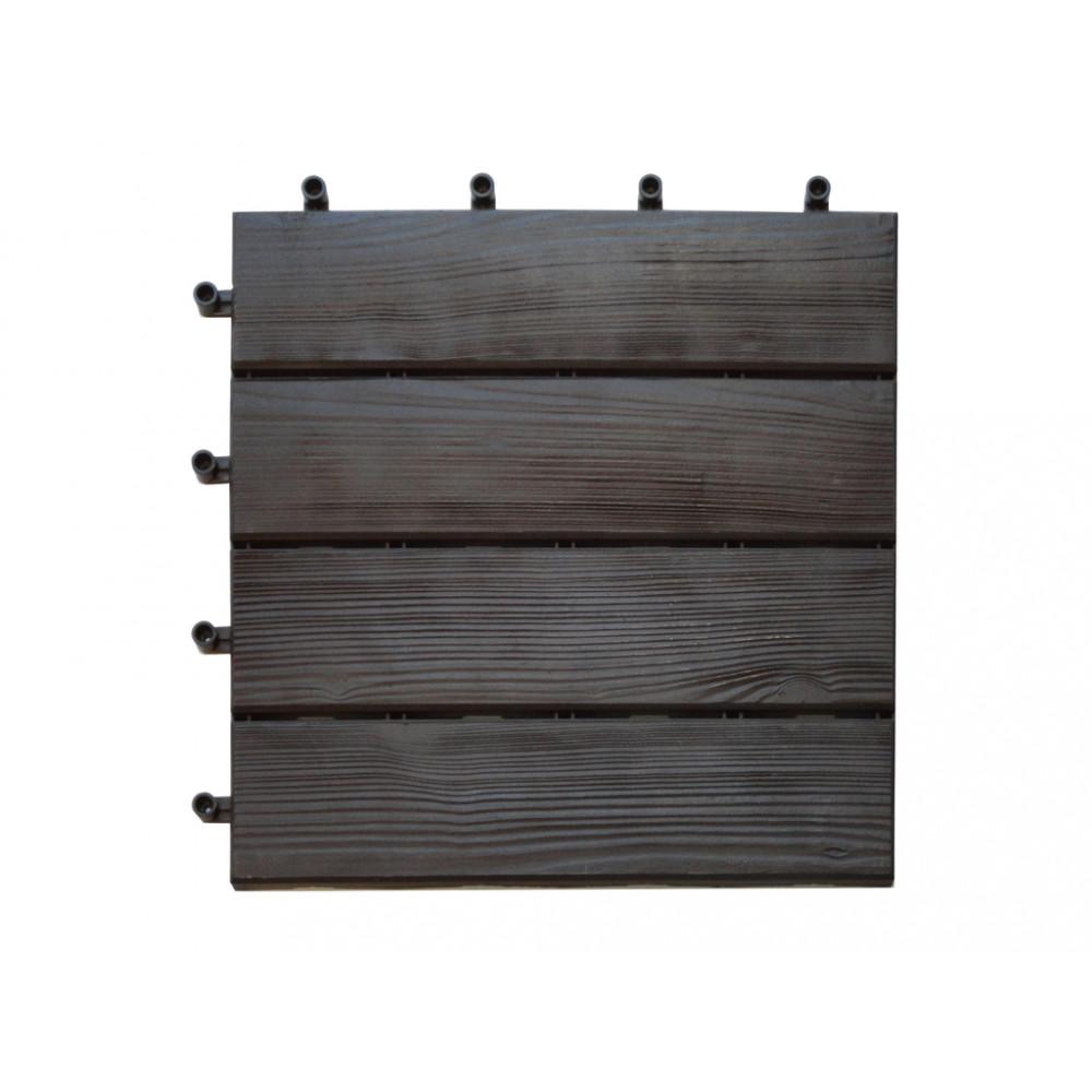 Loseta imitación madera cuadradas 40x40cm 6uds TERRANITE Nortene