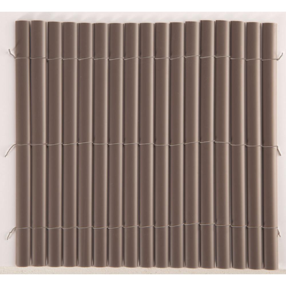 Cañizo media caña PLASTICANE 2 x 3 m chocolate Nortene