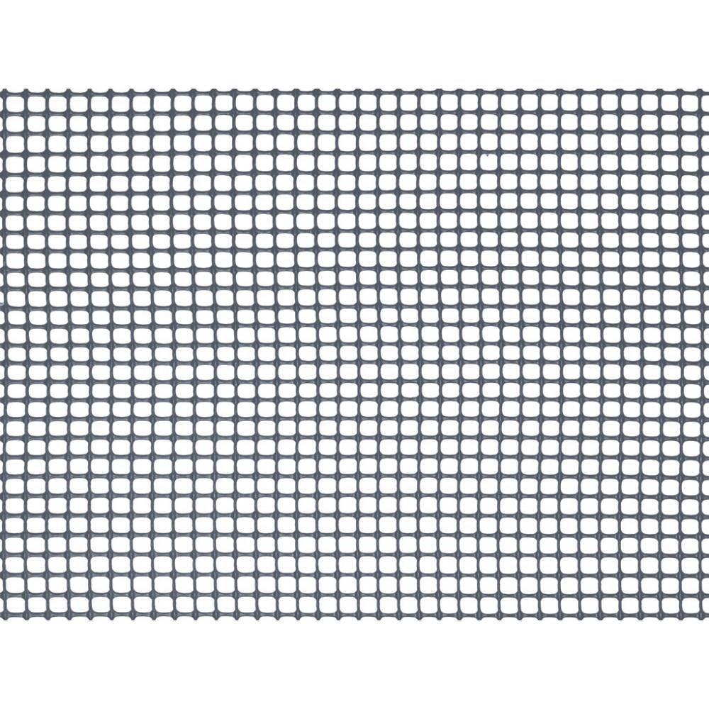 Malla cuadrada ligera SQUARE 5 x 5, 1 x 5 m antracita Nortene