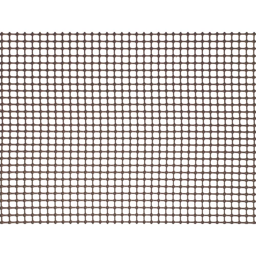 Malla cuadrada ligera SQUARE 5 x 5, 1 x 5 m marrón Nortene