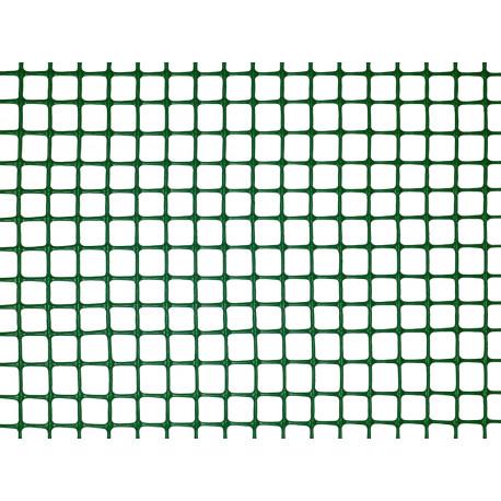 Malla cuadrada ligera SQUARE 10 x 10, 1 x 5 m verde Nortene