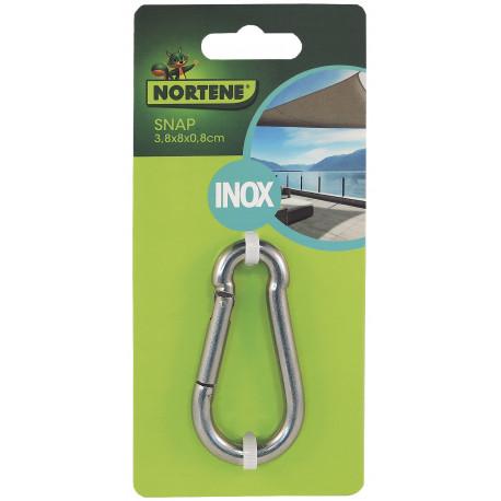 Accesorio para instalación velas de sombreo SNAP (mosquetón) Nortene