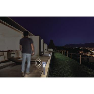 Baliza solar con detector de movimiento SENSEÏS Nortene
